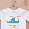 เสื้อยืดเด็กสกรีนลาย : Helicopter
