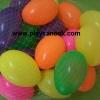 PS-3011 ลูกบอลทรงไข่ (พลาสติก) ถุงละ 20 ลูก