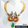 Inspire Jewelry สร้อยคอพญานาคลงยา สำหรับพิธีการบูชาพญานาคราช งานเฉพาะกิจ หรือบูชา ถวายบนหิ้งเป็นต้น