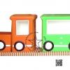 SET-01 ชุดรถไฟปู๊น ปู๊น 1 โบกี้ พร้อมสื่อเสริมพัฒนาการ