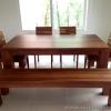ชุดโต๊ะอาหารไม้สัก 6 ชิ้น Teak Dining Set 6