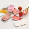 (พร้อมส่ง) Skinfood Fresh Fruit Lip & Cheek Trio เบอร์ 1,2,3,4,6