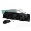 (2in1) PS/2 Keyboard LOGITECH (MK100) Black