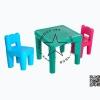 Pro-05-57-19 ชุดโต๊ะคิดดี้พร้อมเก้าอี้ 2 ตัว