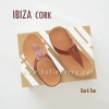 * NEW * FitFlop IBIZA Cork : Dark Tan : Size US 7 / EU 38