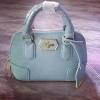 [[พร้อมส่ง]] กระเป๋า Lynaround Isabella micro สีฟ้า หนังด้าน