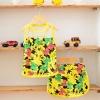ชุดแฟชั่นเสื้อกล้ามลาย Minnie (เสื้อ+กางเกง)(สีเหลือง) ไซส์ที่มีจำหน่าย 100 110 120 130 140