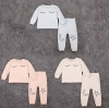 km1958 เสื้อยืดแขนยาว+กางเกงขายาว 5 ตัวต่อแพ็ค
