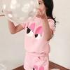 ชุดแฟชั่นสาวน้อย สีชมพูน่ารักๆจ้า ไซส์ที่มีจำหน่าย 100 110 120 130 140