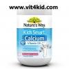 Nature's Way Kids Smart Calcium สูงถึง 400mg 100 เม็ดเคี้ยวรสราสเบอรี่(ทาน100วัน คุ้มมาก) เสริมสร้างกระดูกและฟัน เต็มกำลัง (สินค้าใหม่ exp.08/2020)