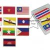 SKAEC-37 ภาพติดแม่เหล็ก ชุดธงชาติอาเซียน