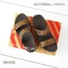 * NEW * FitFlop : GLITTERBALL Sandal : Bronze : Size US 6 / EU 37