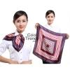ผ้าพันคอจัตุรัส ผ้าพันคอ uniform รหัส S01 - size 60 x 60 cm