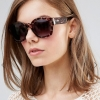 Minkpink Printed Square Frame Sunglasses