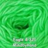 ไหมพรม Eagle กลุ่มใหญ่ สีพื้น รหัสสี 321
