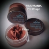 MMUMANIA Pot Rouge สี Flora ลิปสติกเนื้อแมท สีชมพูนู้ด
