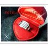 แหวนเพชรเรียง 5แถว pattinum
