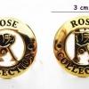 ตัวแต่ง Rose สีทอง 3.1 ซม.