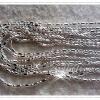 สร้อยคอชุบเงินแท้ Silver plated1microns