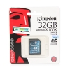 "SD Card 32GB ""Kingston"" (SDX10G2, Class 10)"