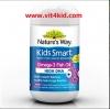Nature's way Kids Smart โอเมก้า180mg แคปซูลหยด 50เม็ด จาก AUS เสริมสร้างสมอง เพิ่มสมาธิ (รสฟรุ้ตตี้ exp.02/2020 หรือ รสสตอเบอรี่ exp.08/2020)