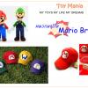 หมวกแก๊ปมาริโอ้ (Mario Bros. hat cap)