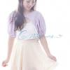 [[พร้อมส่ง]] Lavender Two-tone Dolly Blouse เสื้อ Blouse สีทูโทน ช่วงตัวสีขาว ตัดด้วย สีม่วงช่วงแขนเป็นแขนตุ๊กตา