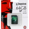 "SD Card 64GB ""Kingston"" (SDX10V, Class 10)"