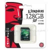 "SD Card 128GB ""Kingston"" (SDX10V, Class 10)"