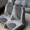 Honda Jazz GD 2002-2008 เบาะHonda Jazz สีเทา ผ้าขอบข้างลายแผนที่ เบาะฮอนด้า แจ๊ส เบาะJazz เบาะแจ๊ส ราคาตามข้างล่างเป็นราคาต่อคู่นะครับ