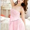 ชุดนอนซีทรูซีทรูสีชมพูแบบเจ้าหญิงเลยค่ะ ชุดสวยมาก