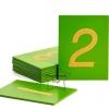 TY-1228-2 บัตรตัวเลขกระดาษทราย อารบิค