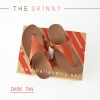 * NEW * FitFlop The Skinny : Dark Tan : Size US 6 / EU 37