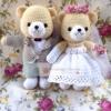 ตุ๊กตาแต่งงาน ของขวัญแต่งงาน(45cm)