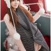 เสื้อคลุมกันหนาวแต่งฮู๊ดแฟชั่นเกาหลี (เกรดA)