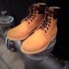 รองเท้าผู้ชาย | รองเท้าแฟชั่นชาย Tan Boots หนังแท้พิเศษ ชนิดกันน้ำ