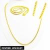 Inspire Jewelry สร้อยคอทอง น้ำหนัก 2 บาท งานทองไมครอน ชุบเศษทองคำแท้ ยาว 24 นิ้ว หนัก 29 กรัม