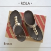 ** NEW ** FitFlop : ROLA : Bronze : Size US 7 / EU 38