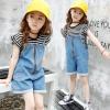 hh159 เสื้อ+เอี๊ยมยีนส์ เด็กโต size 140-160 3 ตัวต่อแพ็ค
