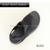 * NEW * FitFlop : Sling Mens Weave Sandal : Black / Dark Shadow : Size US 11 / EU 44