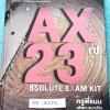 ►ครูพี่แนน Enconcept◄ AX A252 หนังสือ AX 23 rd Year Absolute Exam Kit หนังสือรวมข้อสอบวิชาภาษาอังกฤษเข้ามหาวิทยาลัย 4 ชุด ปี 2552 -2553 ในหนังสือมีเขียนบางหน้า อ่านง่าย มีคำอธิบายเฉลยละเอียดมาก ครูพี่แนนใช้ภาษาพูดอธิบายเฉลย ทำให้อ่านเข้าใจง่าย หนังสือปกแข