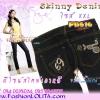 #หมด#SKINNYฮิตฮอตแฟชั่นเกาหลีเก๋สุดๆ PB516 DenimSkinny กางเกงสกินนี่ Skinny ผ้ายีนส์ฟอกสีเข้มสีสวยด้านหลังกระเป๋าปักเก๋มาก งานออเดอร์นอกนะคะไซส์ XXL