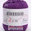 ไหมพรม Cotton 100% รหัสสี 11 Violet