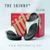 * NEW * FitFlop The Skinny : Silver : Size US 5 / EU 36