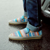รองเท้าผู้ชาย | รองเท้าแฟชั่นชาย รองเท้าผ้ากระสอบ แฟชั่นเกาหลี