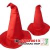 หมวกพ่อมดแม่มดแดง