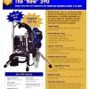 GRACO 390  ชุดยิงโฟม Epoxy +โฟม 20กก.+สาย+Hopper+Hacker 100หัว+ฝา (ซื้อเพิ่มชุดพ่นสีน้ำ น้ำมัน ยูรีเทน งานหนัก พ่นกำแพง ประกันมอเตอร์ 1 ปี) USA.