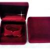 กล่องกำไลกำมะหยี่มีสีน้ำเงิน แดงมะเหมี่ยว ขายยกโหล