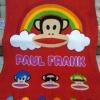 ผ้าห่มนาโน เกรด A Paul Frank แดง