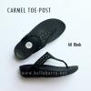 **พร้อมส่ง** FitFlop : CARMEL Toe-Post : All Black : Size US 7 / EU 38